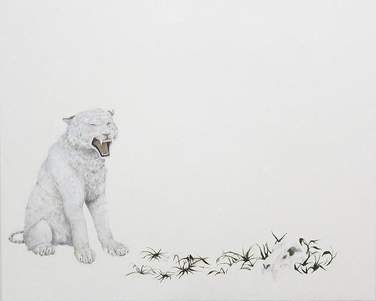 Coming - painting, oil, animal, nature - ayumiinagaki | ello