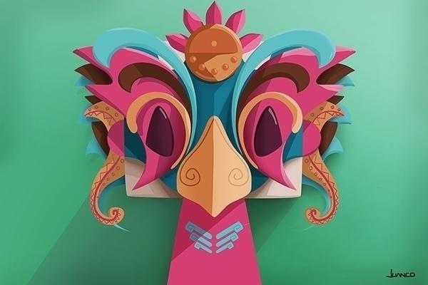 mask - characterdesign, character - juanco-1165 | ello