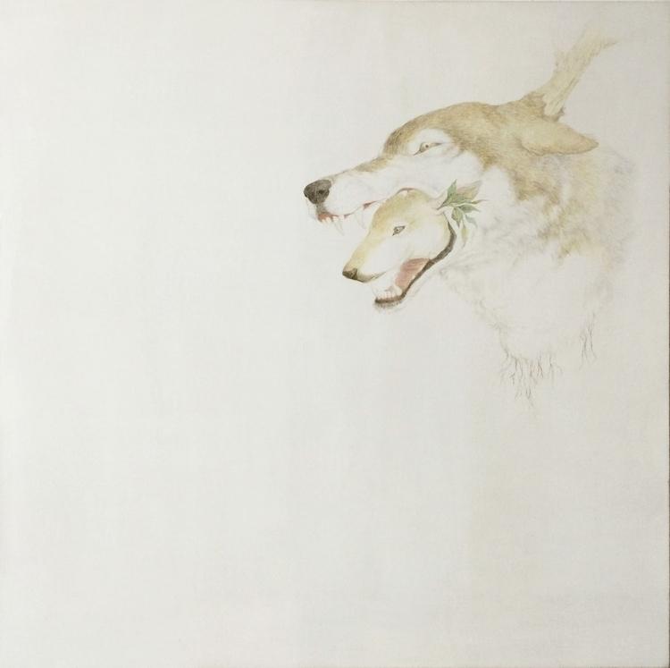 Grace - painting, drawing, oil, nature - ayumiinagaki | ello