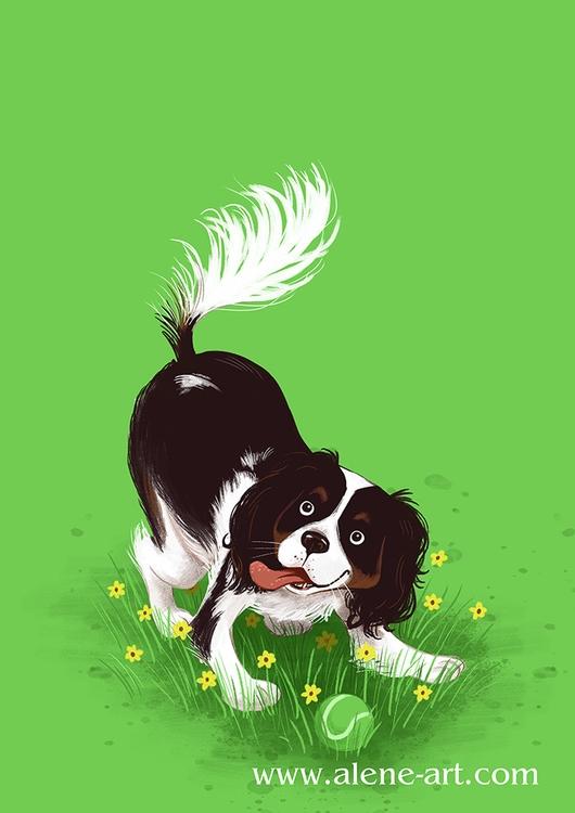 Play! dog Myrna appearance Colo - aleneart | ello