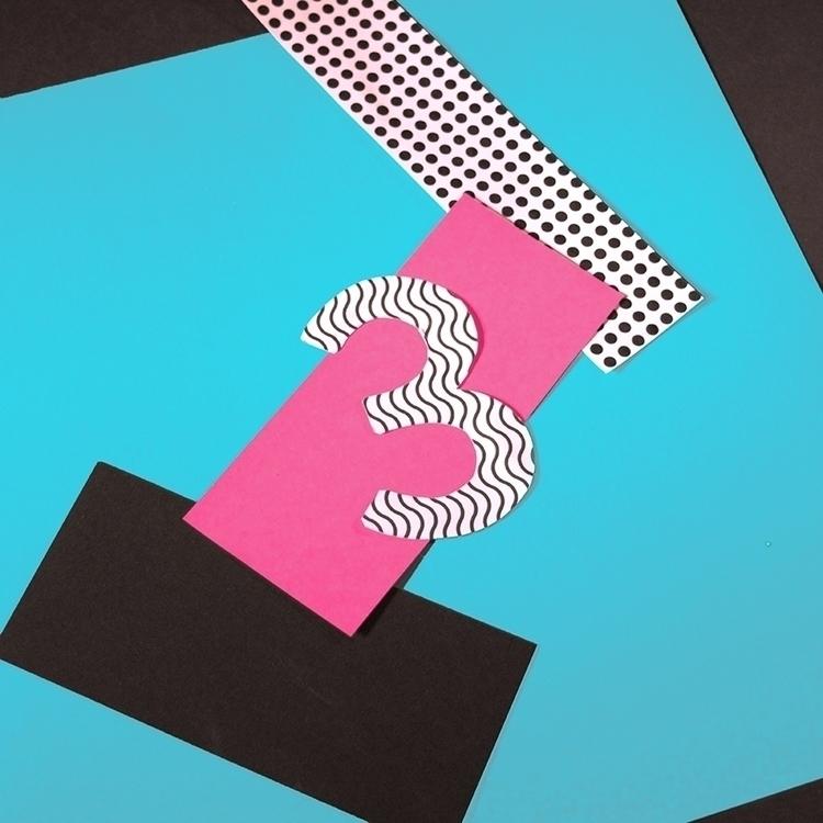 3 - 36daysoftype, typography, collage - katiecoughlan | ello