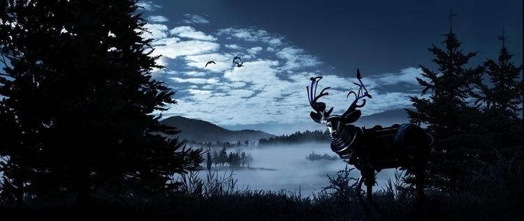 Mist concept art - Reindeer Mai - maianhtran | ello