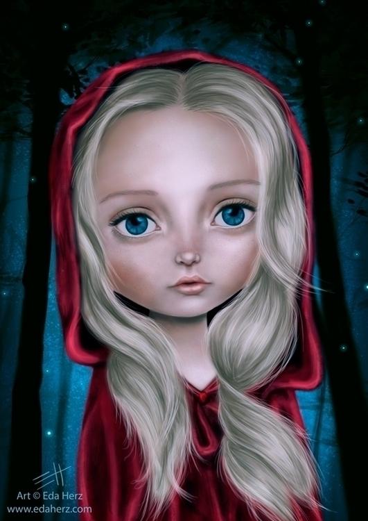 Red Riding Hood' (2014 - illustration - edaherz | ello