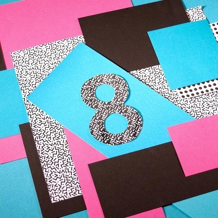 8 - 36daysoftype, typography, collage - katiecoughlan | ello