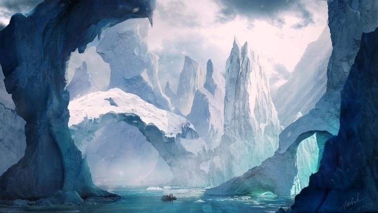 FrozenLand Frajlony - mattepainting - maianhtran | ello