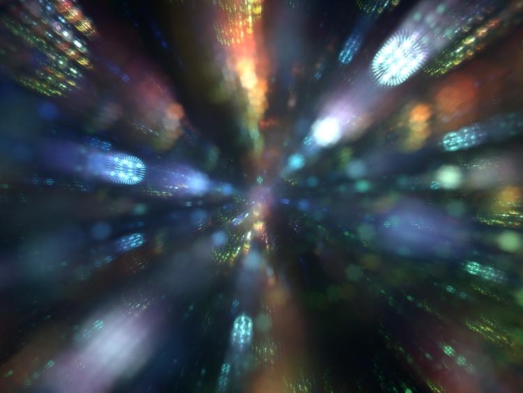 IFS lens flare test - punpcklbw | ello