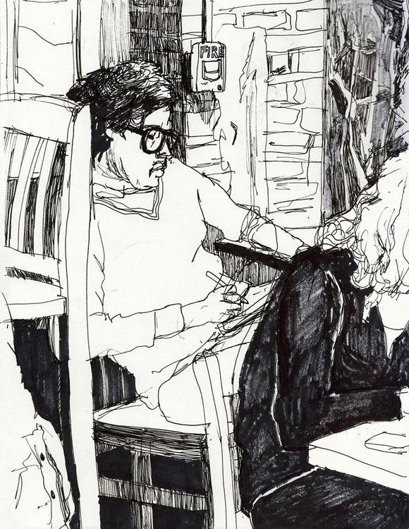 artist - drawing, penandink, sketchbook - ononlao | ello