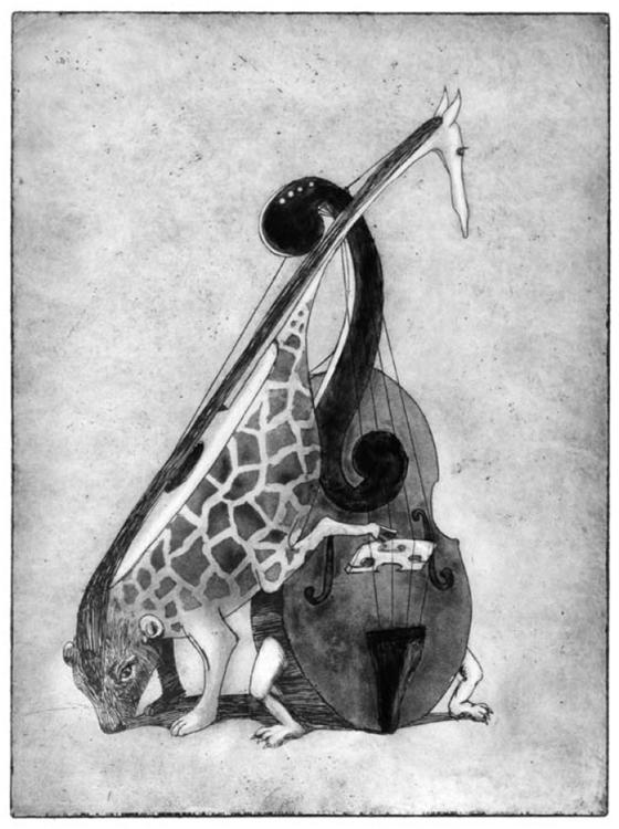 Musical Creature - illustration - liovamilla | ello