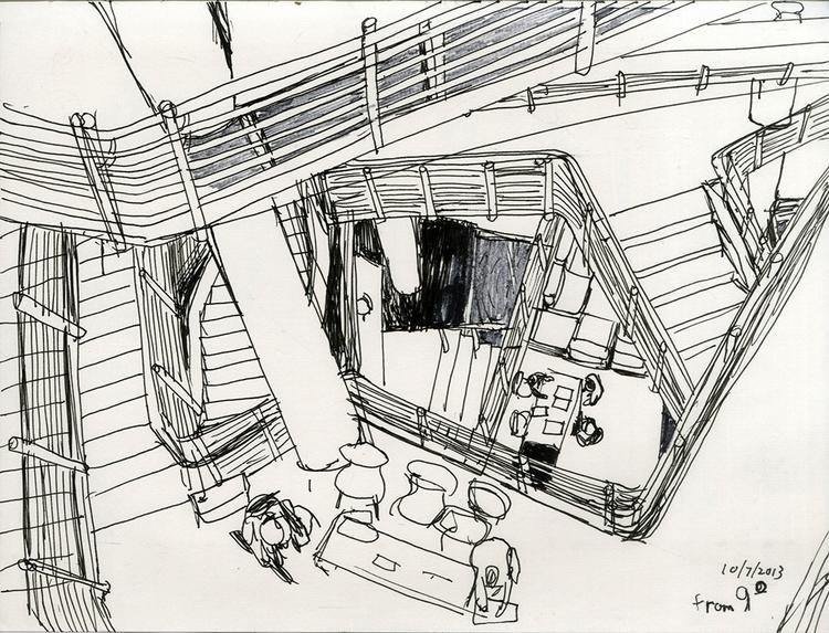 UB law center - 2, drawing, sketchbook - ononlao | ello