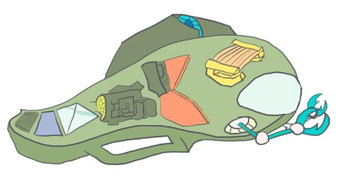 Submarine - illustration, drawing - mauriciofreeze | ello