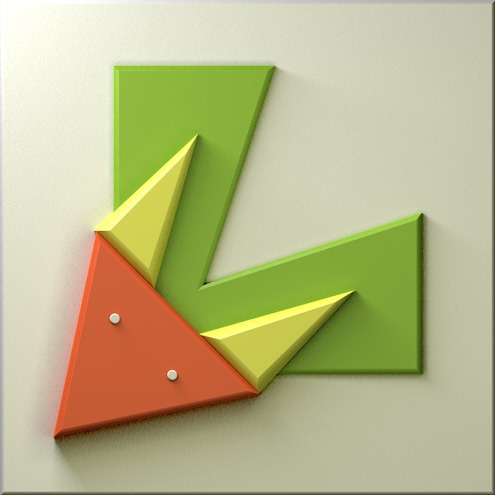 Logo: letter Alice Le - logo, logodesign - alicele1512   ello