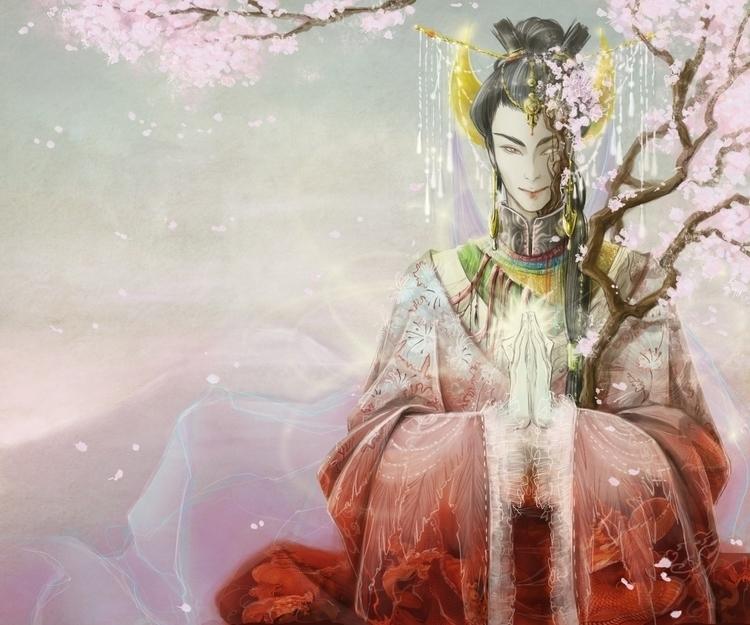 king Asia - asian, god - kiiouraha | ello