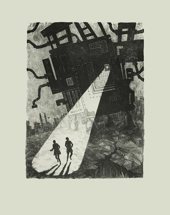 Cyberiada - illustration, graphic - odarkaluhihi | ello