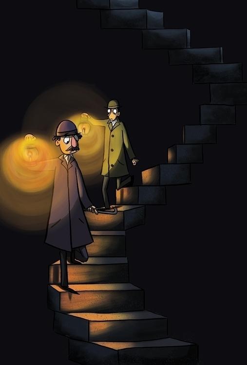 illustration, foliosociety, ghoststory - cpowell-1234   ello