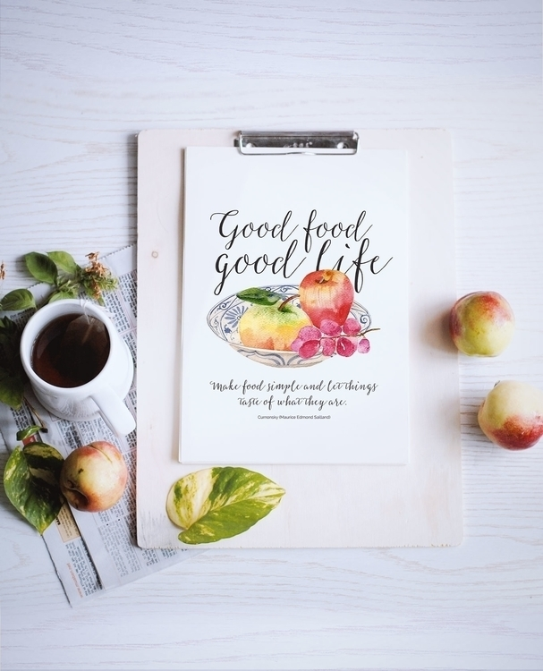 Good food good life, Short Insp - judynguyen-5846 | ello