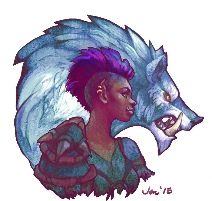 Lokra Asha - worldofwarcraft, warlordsofdraenor - estirdalin | ello