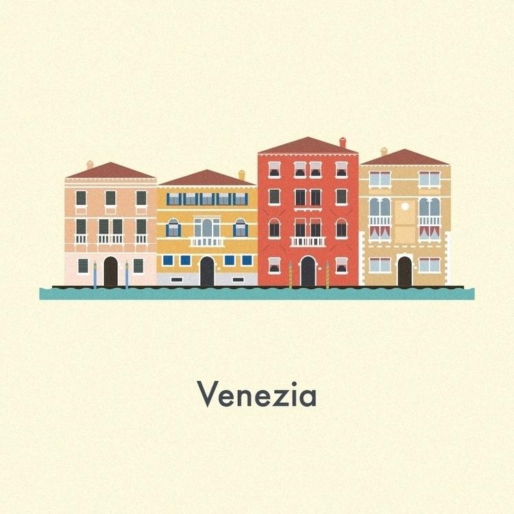 Vector Cities. Venezia - venice - gloriaciceri | ello