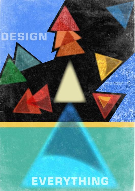 design /Design 4. 03/11/15 - poster - yessindez | ello