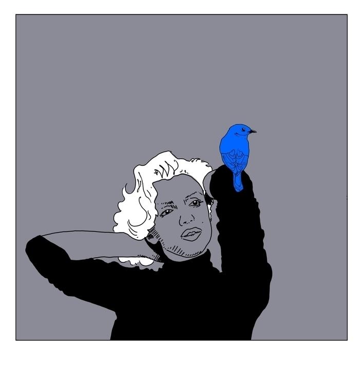 Marilyn - conceptart, illustration - cs-2874 | ello