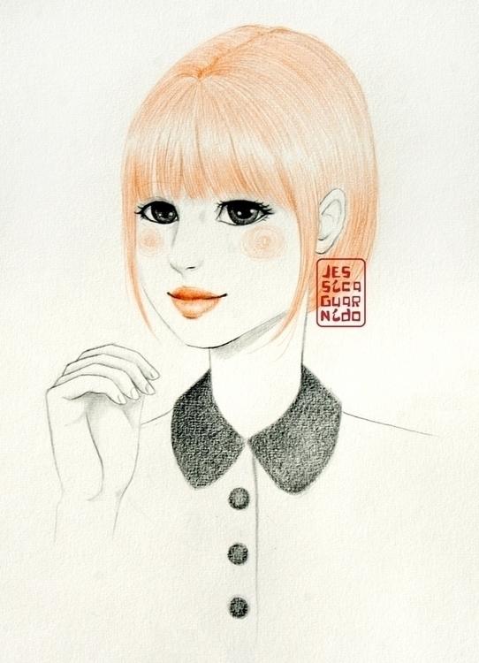 Red Haired Cute Girl - cutegirl - jessicaguarnido | ello