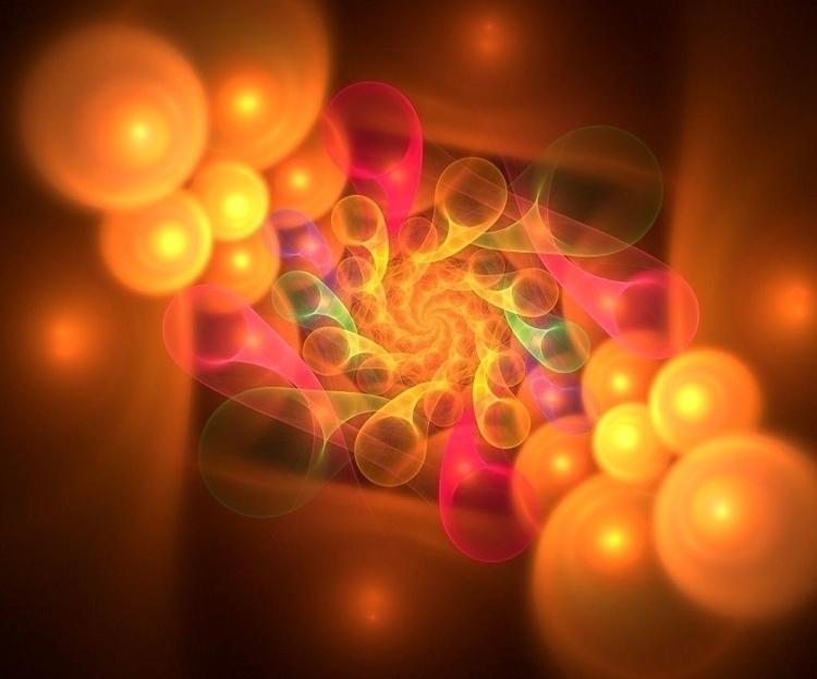 Lennea - digitalart, abstract, colorful - lenneastudio | ello
