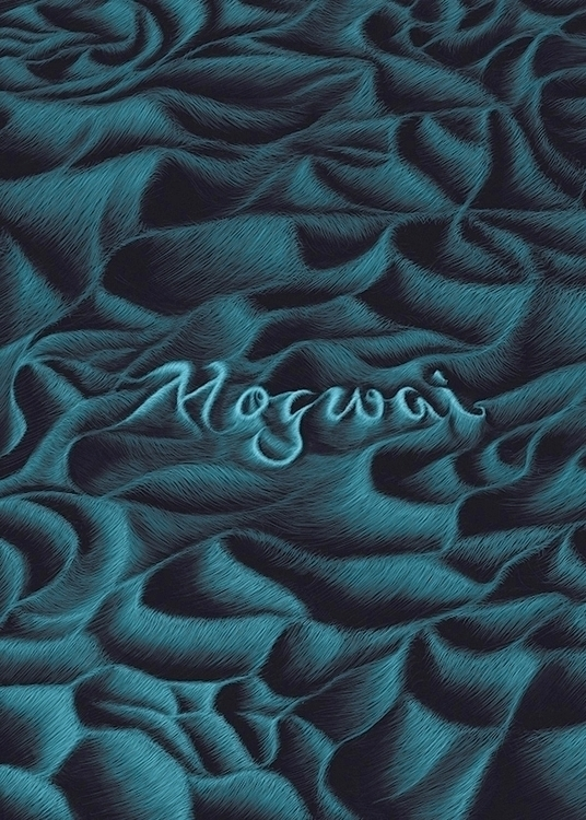 Mogwai - Rock Poster Art - illustration - francescodibattista   ello