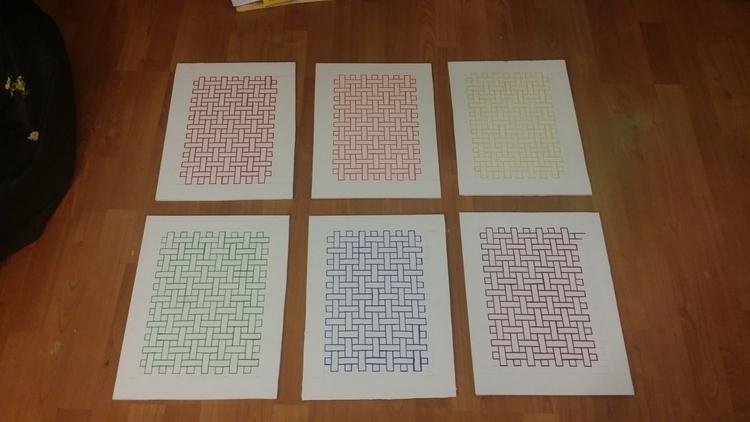 Pattern Series pre-hanging - littleduffer20 | ello