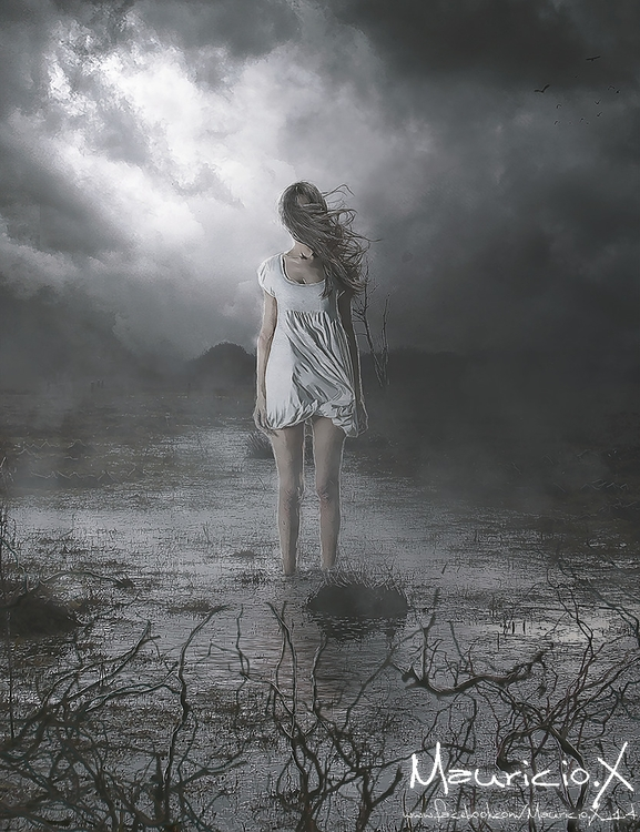 Darkness Image created inspirat - mauriciox-1463 | ello