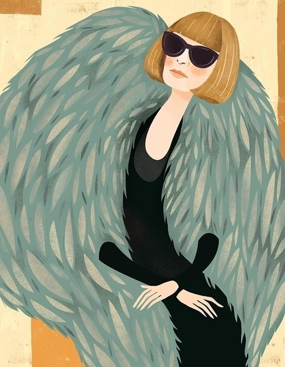 Portrait style icon Anna Wintou - beejohnson | ello