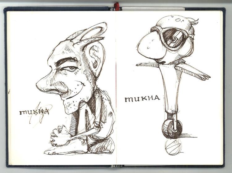 Sketch - characterdesign, sketch - liovamilla | ello