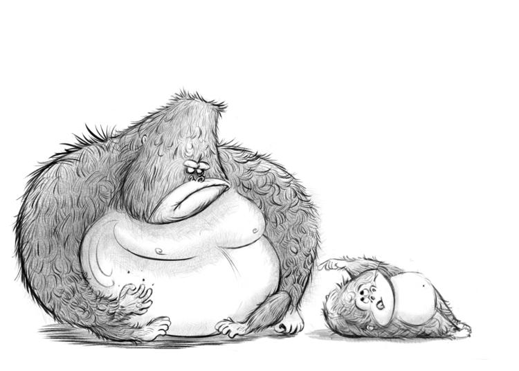 Illustraion, children'sillustration - andycatbug | ello
