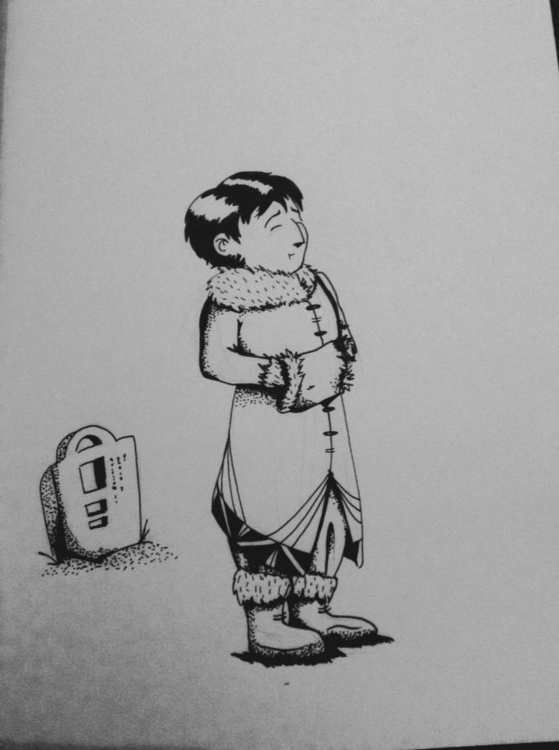 INKtober - 5, illustration, ink - macbeth-9268 | ello