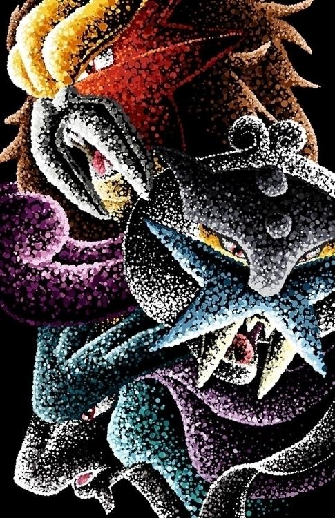 Legendary Beasts Pokémon Raikou - jellysoupstudios | ello