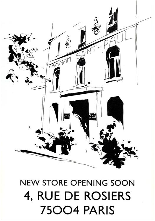 Illustration opening COS Store  - sebj-4787 | ello