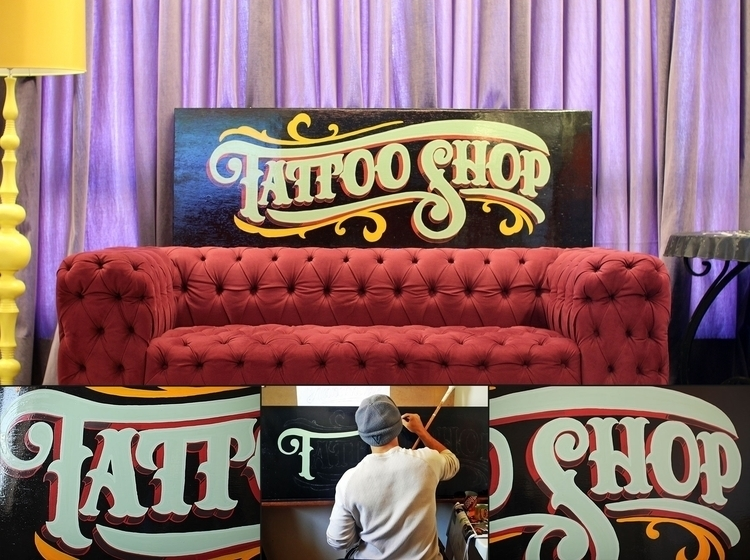 Tattoo shop decoration sign - tattoo - gibara | ello