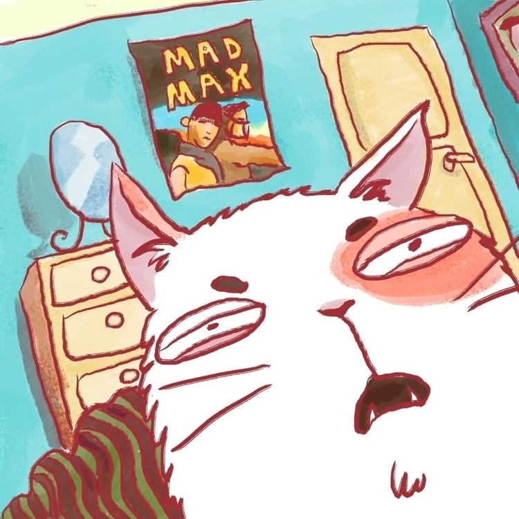 Camera Cat - cats, funny, funnycharacter - prianikn | ello