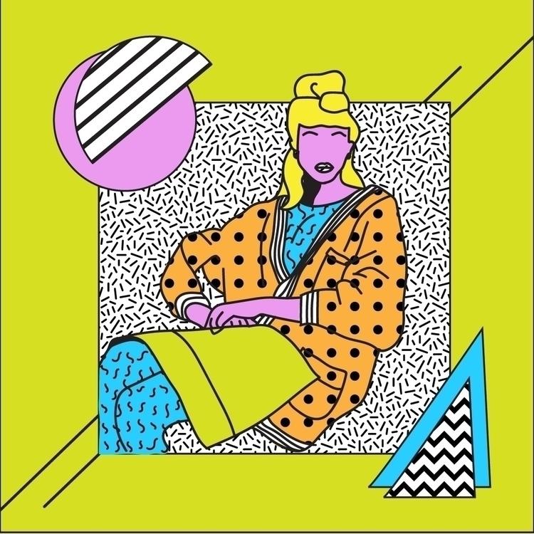 Girl - art, design, patterns, fashion - geelsee | ello