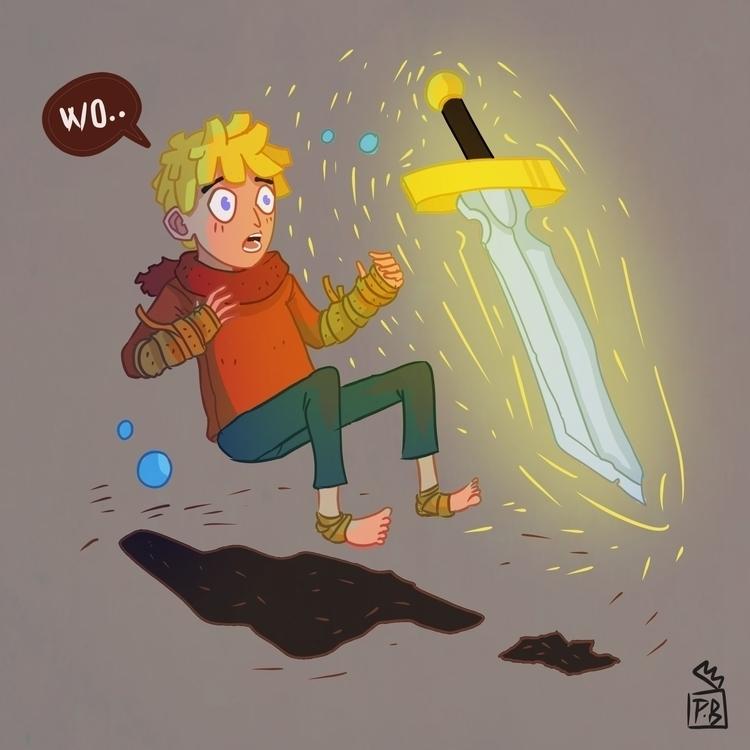 illustration, characterdesign - pb-1050 | ello