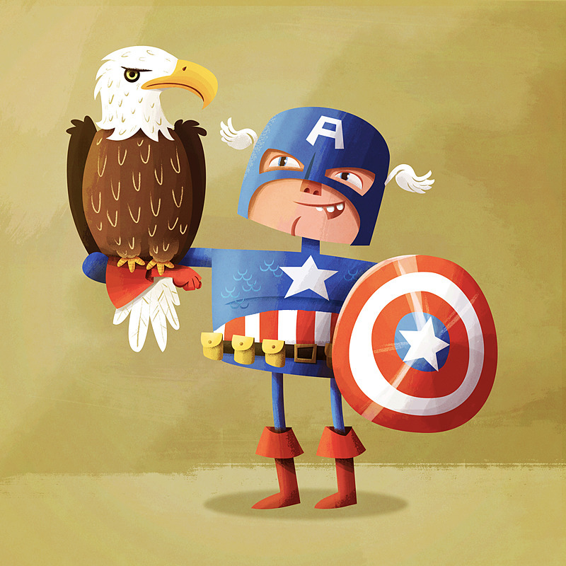 Cap Friend - captainamerica, marvel - dpsullivan | ello