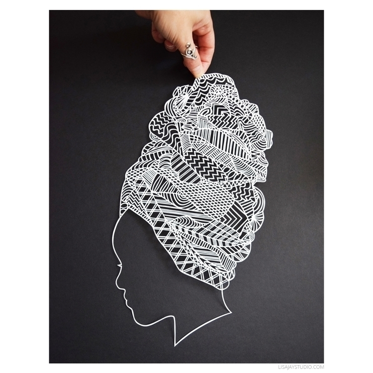 illustration, paper, paperart - lisajaystudio | ello