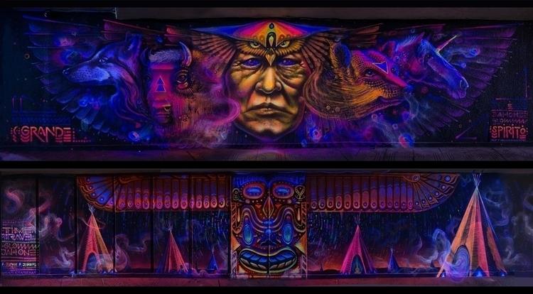 GRANDE SPIRITO 2 walls 11x3 met - jahone | ello