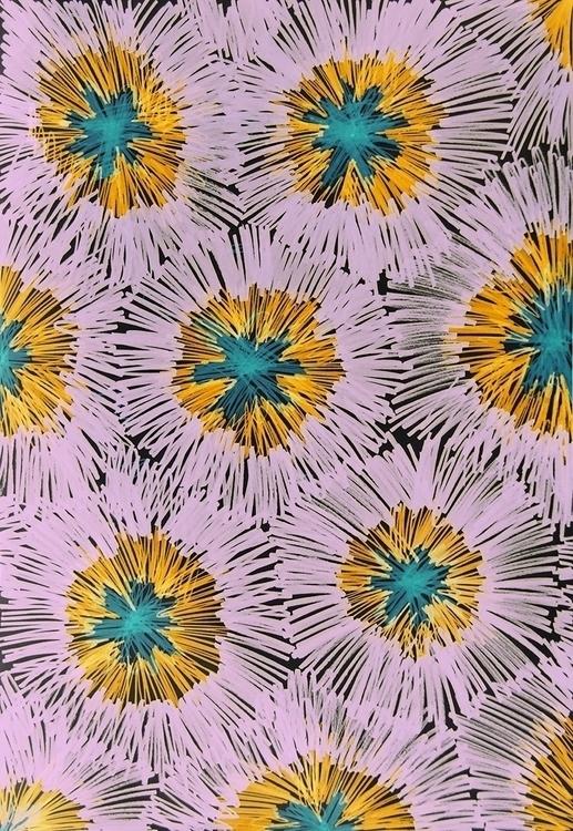 abstract flowers - illustration - nataliya_fedun | ello