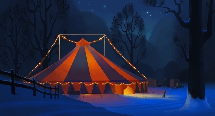 Winter Circus - mellydraws | ello