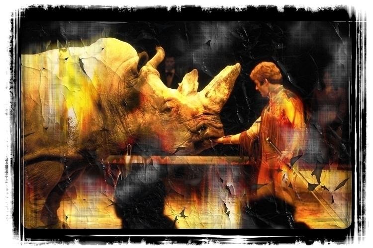 Animal tamer rhino event Vienna - leo_brix | ello