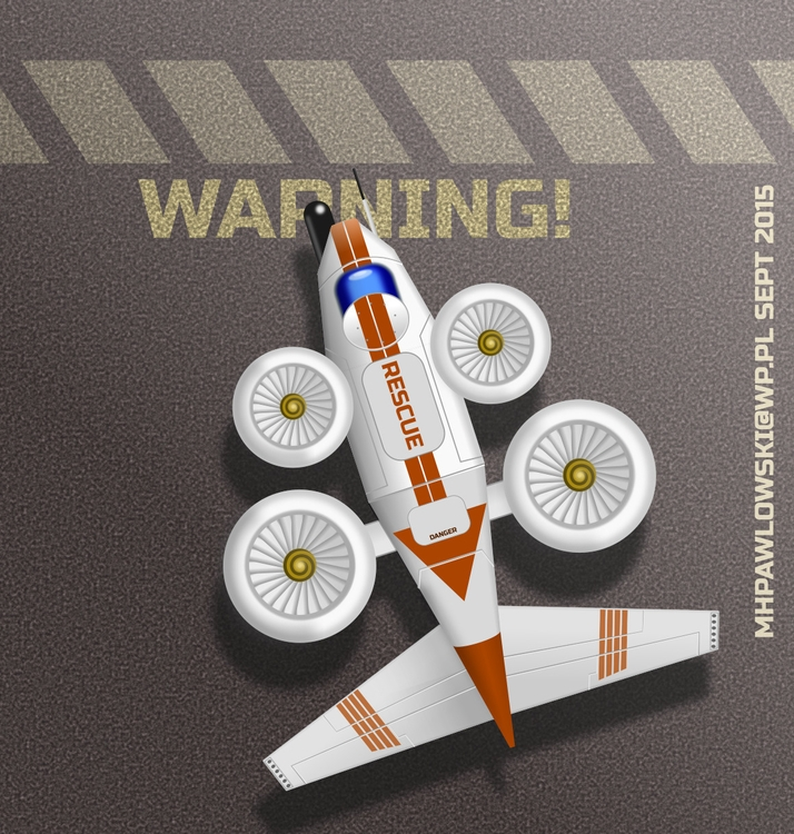 Plane 3 part challenge - inkscape - marpaw123 | ello