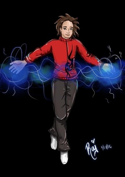 Favorite super hero, Victor Man - purpleraj | ello