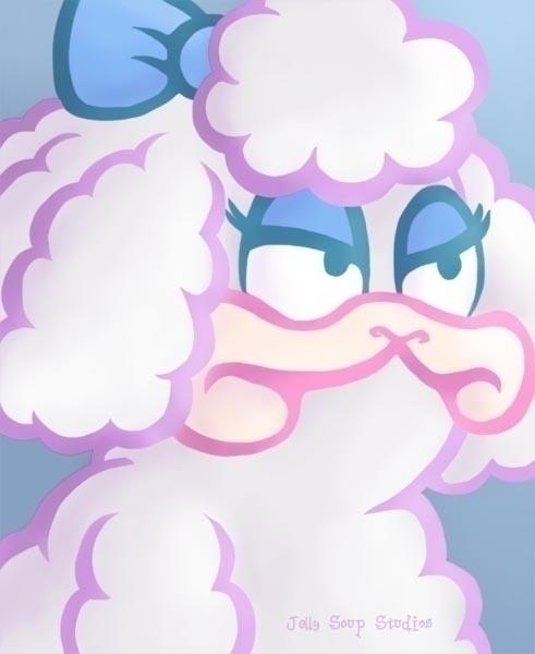 Today, Lanolin Garfield Acres - sheep - jellysoupstudios | ello