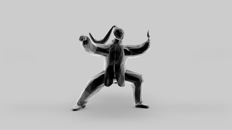 Tai Chi - illustration, animation - merkic | ello