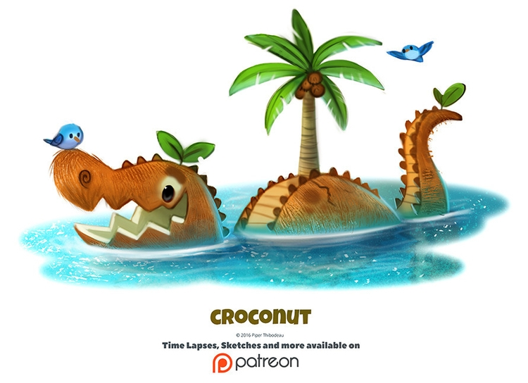 Daily 1345. Croconut - piperthibodeau | ello