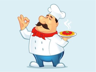 Chef Mascot - illustration, characterdesign - rockcodile | ello